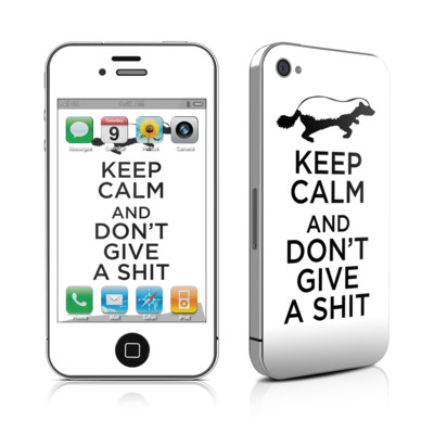 iPhone 4 Skin - Keep Calm - HB