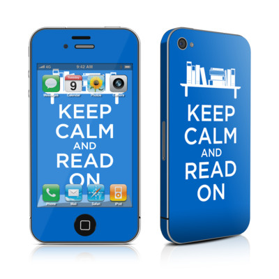 iPhone 4 Skin - Keep Calm - Read