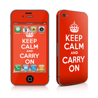 iPhone 4 Skin - Keep Calm