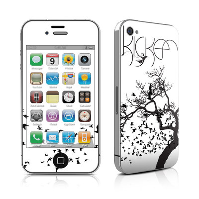 iPhone 4 Skin - KICKER Birds