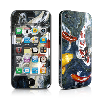 iPhone 4 Skin - Koi's Happiness