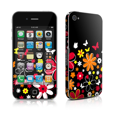 iPhone 4 Skin - Laurie's Garden