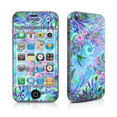 iPhone 4 Skin - Lavender Flowers