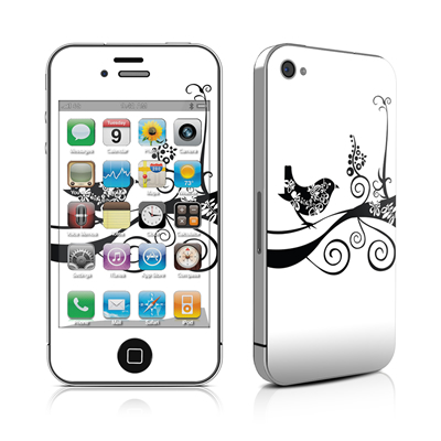 iPhone 4 Skin - Little Curly