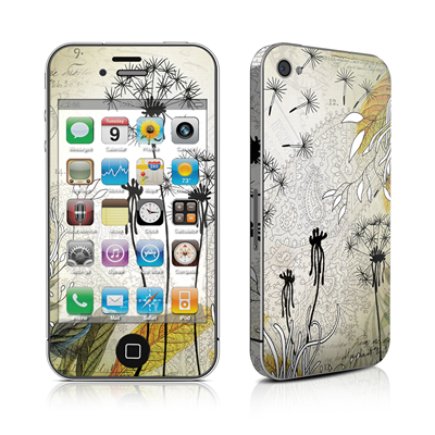 iPhone 4 Skin - Little Dandelion