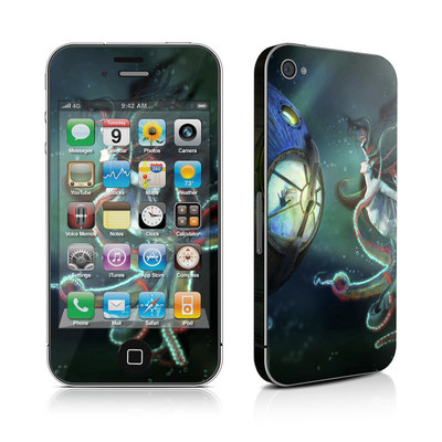 iPhone 4 Skin - 20000 Leagues