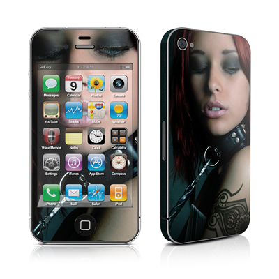 iPhone 4 Skin - Leashed