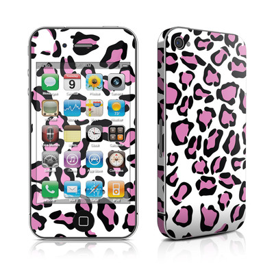 iPhone 4 Skin - Leopard Love