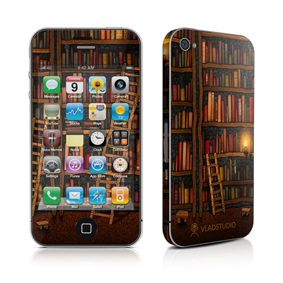 iPhone 4 Skin - Library