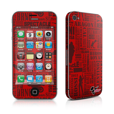 iPhone 4 Skin - Life of MotoGP