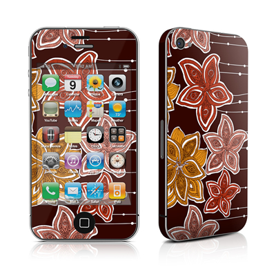 iPhone 4 Skin - Lila