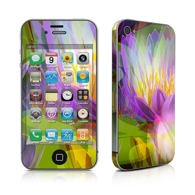 iPhone 4 Skin - Lily