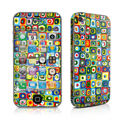 iPhone 4 Skin - Line Dancing