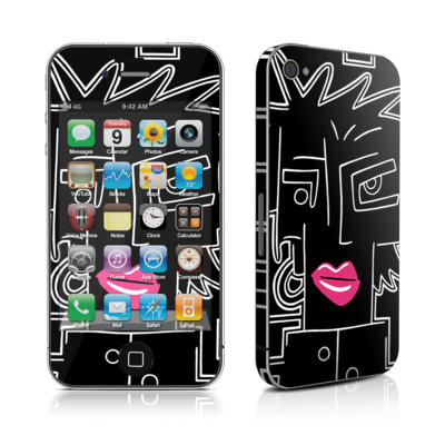 iPhone 4 Skin - Lip Service