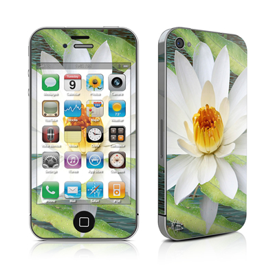 iPhone 4 Skin - Liquid Bloom