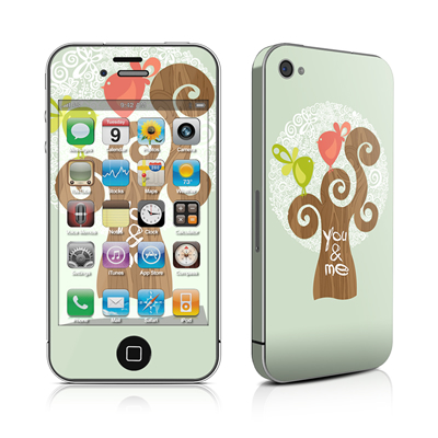 iPhone 4 Skin - Two Little Birds