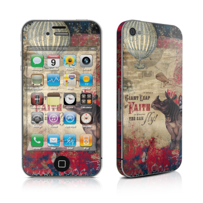 iPhone 4 Skin - Leap Of Faith