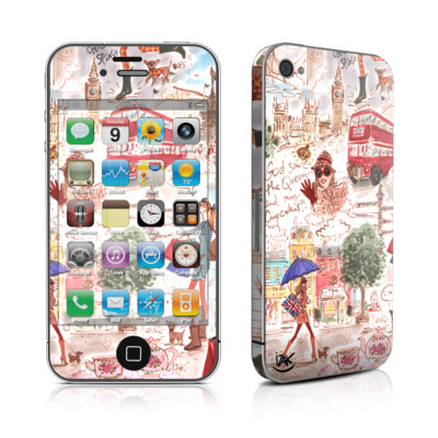 iPhone 4 Skin - London