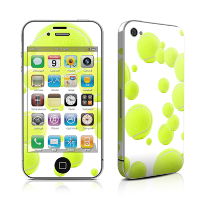 iPhone 4 Skin - Lots of Tennis Balls