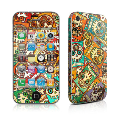 iPhone 4 Skin - Loteria Scatter