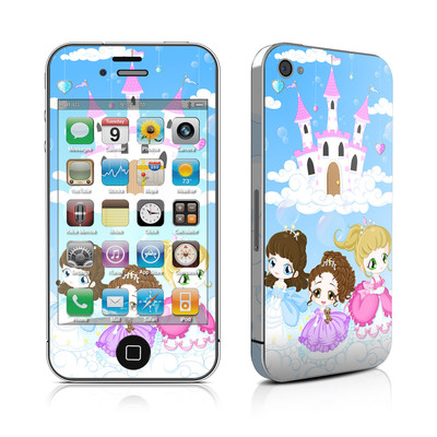 iPhone 4 Skin - Little Princesses