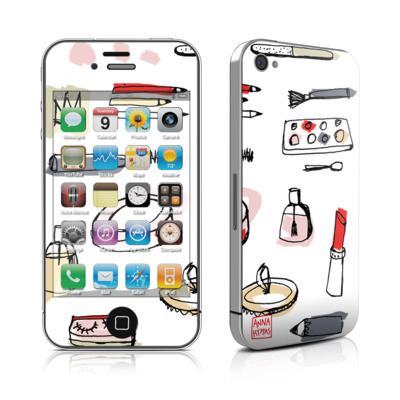 iPhone 4 Skin - Makeup