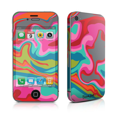 iPhone 4 Skin - Marble Bright