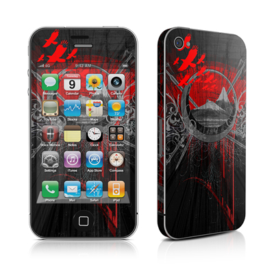 iPhone 4 Skin - Mount Doom