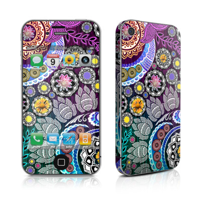 iPhone 4 Skin - Mehndi Garden