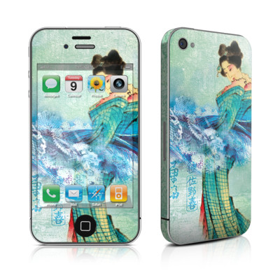 iPhone 4 Skin - Magic Wave