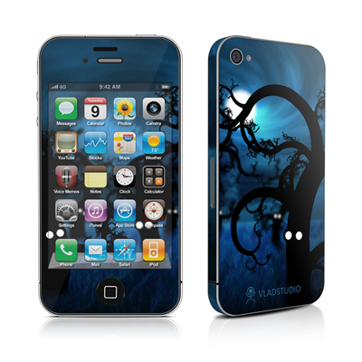 iPhone 4 Skin - Midnight Forest
