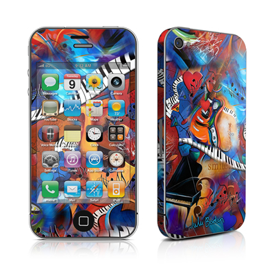iPhone 4 Skin - Music Madness