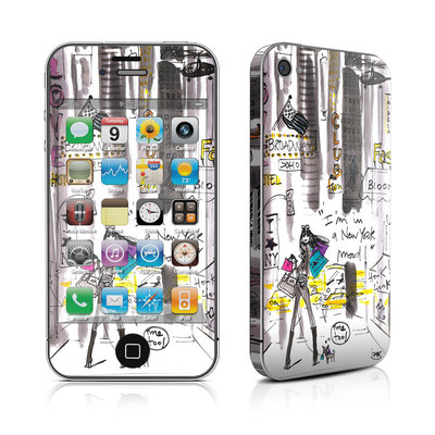 iPhone 4 Skin - My New York Mood