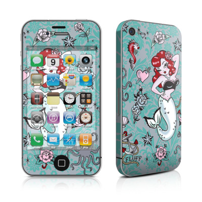 iPhone 4 Skin - Molly Mermaid