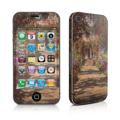iPhone 4 Skin - Monet - Garden at Giverny