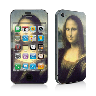 iPhone 4 Skin - Mona Lisa