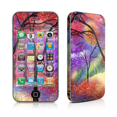 iPhone 4 Skin - Moon Meadow