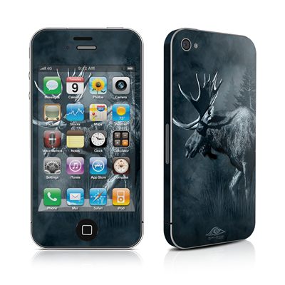 iPhone 4 Skin - Moose