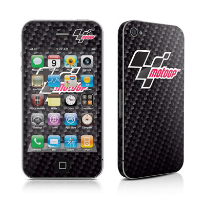iPhone 4 Skin - MotoGP Carbon Logo