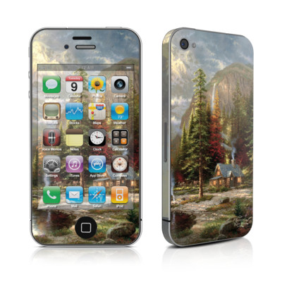 iPhone 4 Skin - Mountain Majesty