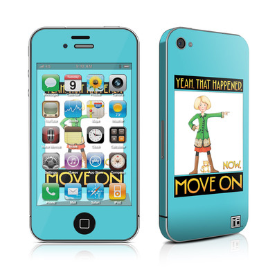 iPhone 4 Skin - Move On