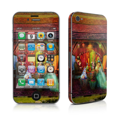 iPhone 4 Skin - A Mad Tea Party