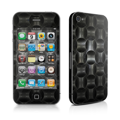 iPhone 4 Skin - Metallic Weave