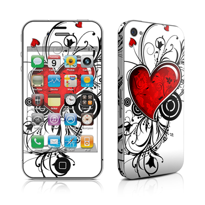 iPhone 4 Skin - My Heart