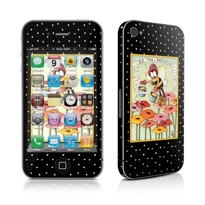 iPhone 4 Skin - Be My Honey