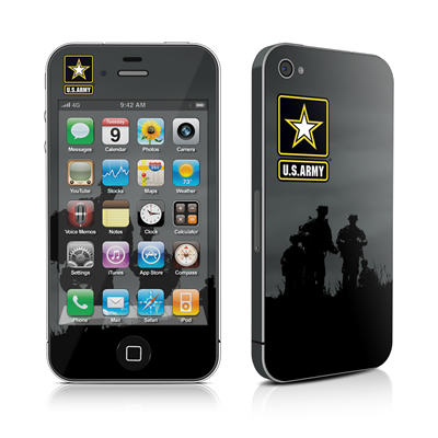 iPhone 4 Skin - Night Action