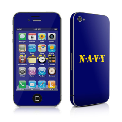 iPhone 4 Skin - Navy