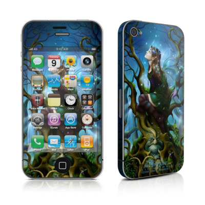 iPhone 4 Skin - Nightshade Fairy