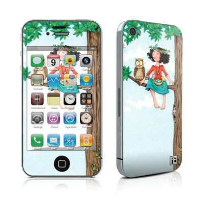 iPhone 4 Skin - Never Alone