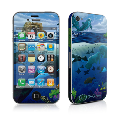 iPhone 4 Skin - Oceans For Youth